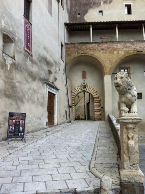 Palazzo Orsini Entance
