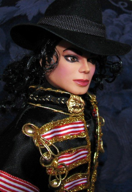 Michael Jackson doll.