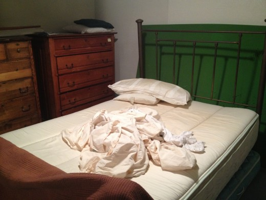 Always strip the bed before you leave your host's home at the end of your stay!