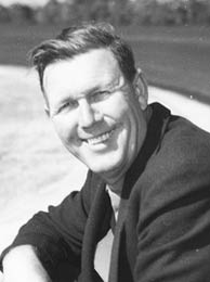 Bill France, Sr., founder of NASCAR.