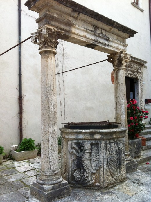 The Well in the Palazzo Orsini