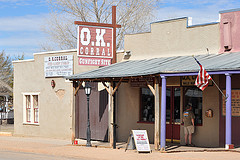 The famous OK Corral.