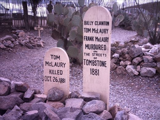 The grave of the bad cowboys.