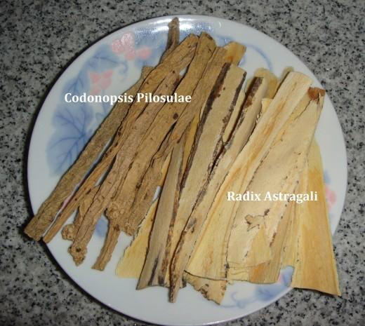 Codonopsis Pilosulae and Radix Astragali