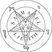Seal of Blaphomet, upside down pentical