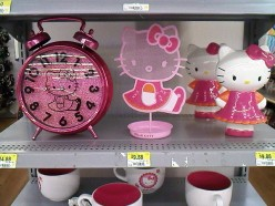 Living In A Pink World: Hello There Kitty!