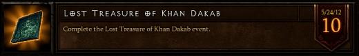Lost Treasure of Khan Dakab