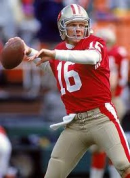 49ers Legend and 4-Time Superbowl Champion Joe Montana
