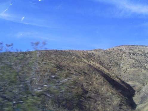 A few of the hills above on Highway 18.