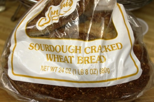 Sourdough Cracked Wheat Bread