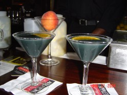 Round Midnight Martini Drink at Zanzibar Blue