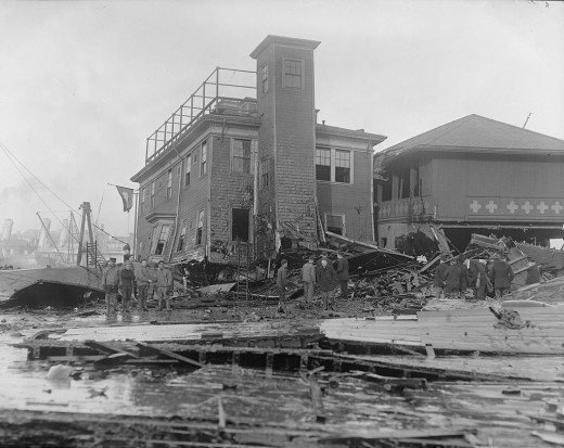 Damage to the Fire House