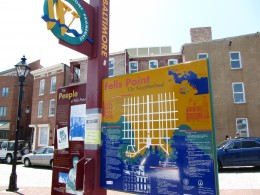 Fells Point sign