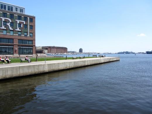 Bond Street Wharf, Fells Point, Baltimore, MD