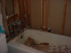 How to Remove the old Tub and Tile In Preparation for a New Installation