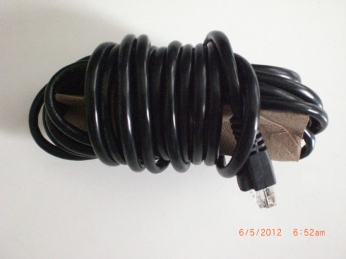 Storing a LAN Cable