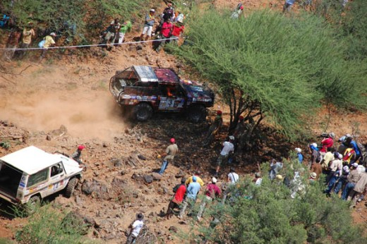 Rhino Charge thrills spectators