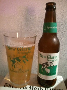 Spotted Cow in a 12 oz bottle
