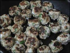 Turkey Meatball Recipe, A Low Fat, Quick and Easy Healthy Dinner, Full of Flavor!