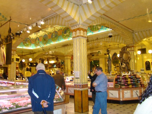 Food Court at Harrods
