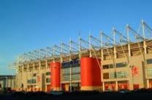Riverside Stadium, another icon I've visited several times in the near past