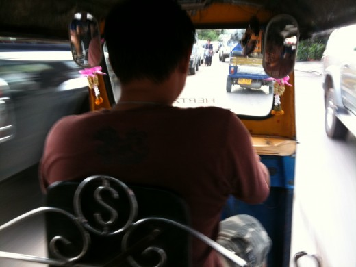 Take a tuk-tuk instead, if your brave enough!