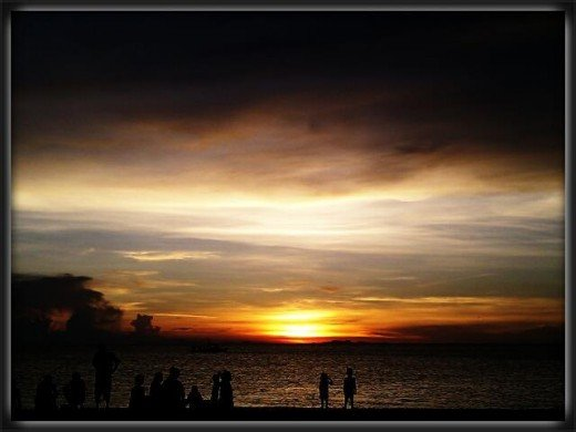 Philippine sunset..... one of the World's best.