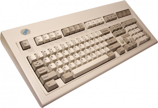 Keyboard Classic.  IBM Model M.