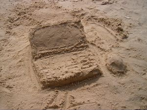 Is it all a sand castle?