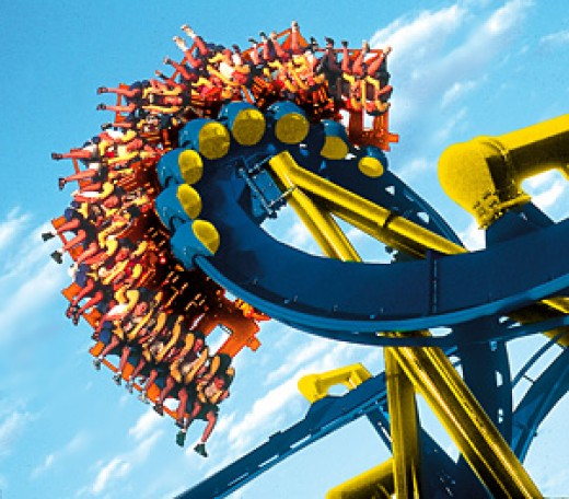 Six flags fiesta -Theme park and water park