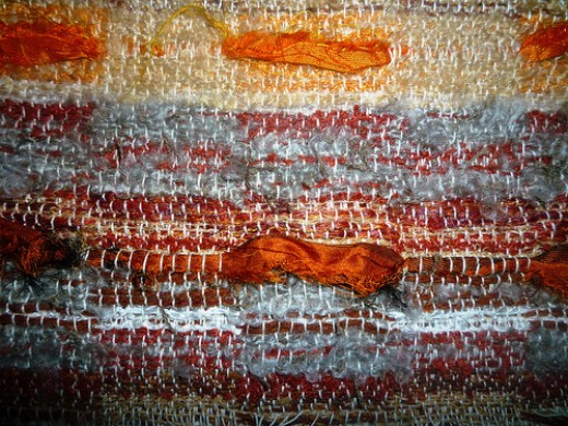 Woven fabric sample from victorialouise_ Source: flickr.com