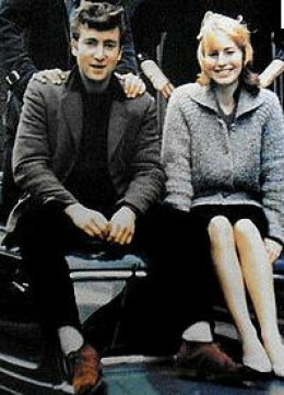 John and Cynthia 1961-62