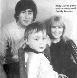 The John Lennon family in 1965
