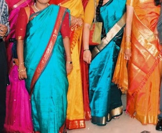 How To Remove Stains From Silk Saris
