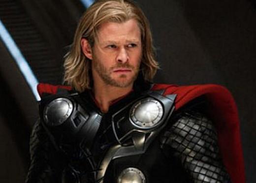 Chris Hemsworth as Thor in Disney/Marvel Studio's Thor 2011