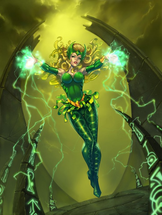The Enchantress Marvel Comics. Who should play Amora?