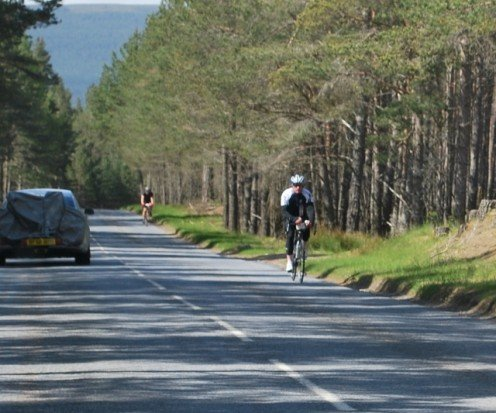 You can enjoy the Cairngorm National Park by cycling or driving.