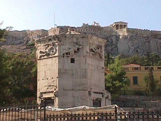 The Tower of the Winds was built by Syrian astronomer Andronikos Kyrrestes in the second century BC.