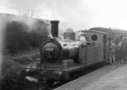 J72 65023 of North Eastern Loco Preservation Group on loan to the K&WVR