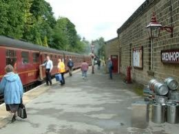 'Oxenhope and all stations... Close the doors please!'