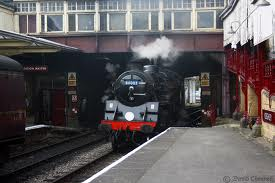 Keighley Station, used in the film 'Yanks', about US troops camped in the north in 1943 before D-Day