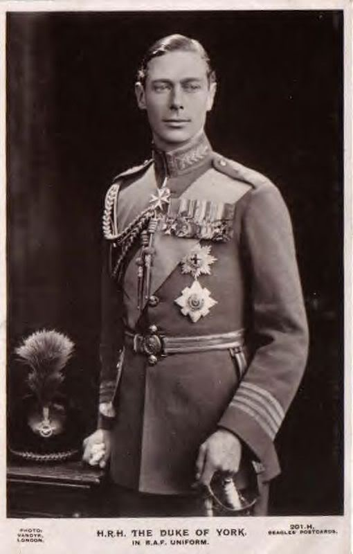 Prince Albert as Duke of York