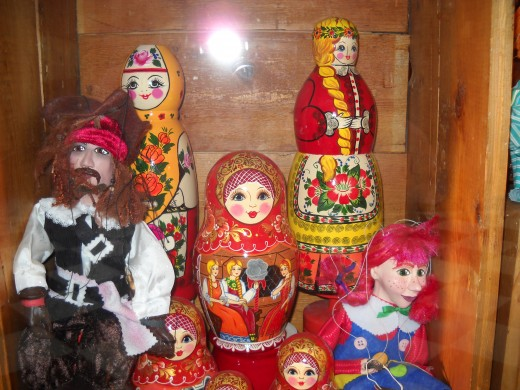 A shop selling Russian Dolls.