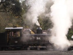 Day 6 in Melbourne, Australia: Riding on the Puffing Billy