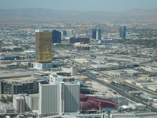 View from 109th floor outdoor observation deck