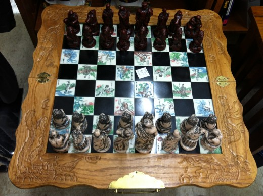 Vintage Chess Set