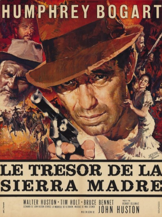 Treasure of the Sierra Madre (1948) French poster