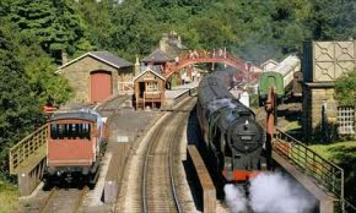 Goathland Station, a 19th Century time capsule in the 21st Century! The village is a short climb away to the west