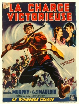 The Red Badge of Courage (1951) French poster