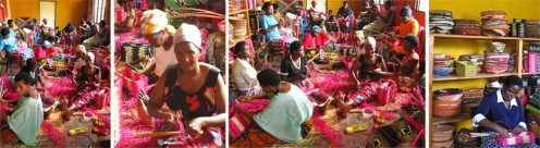 Women make Kate Spade handbags In Rwanda